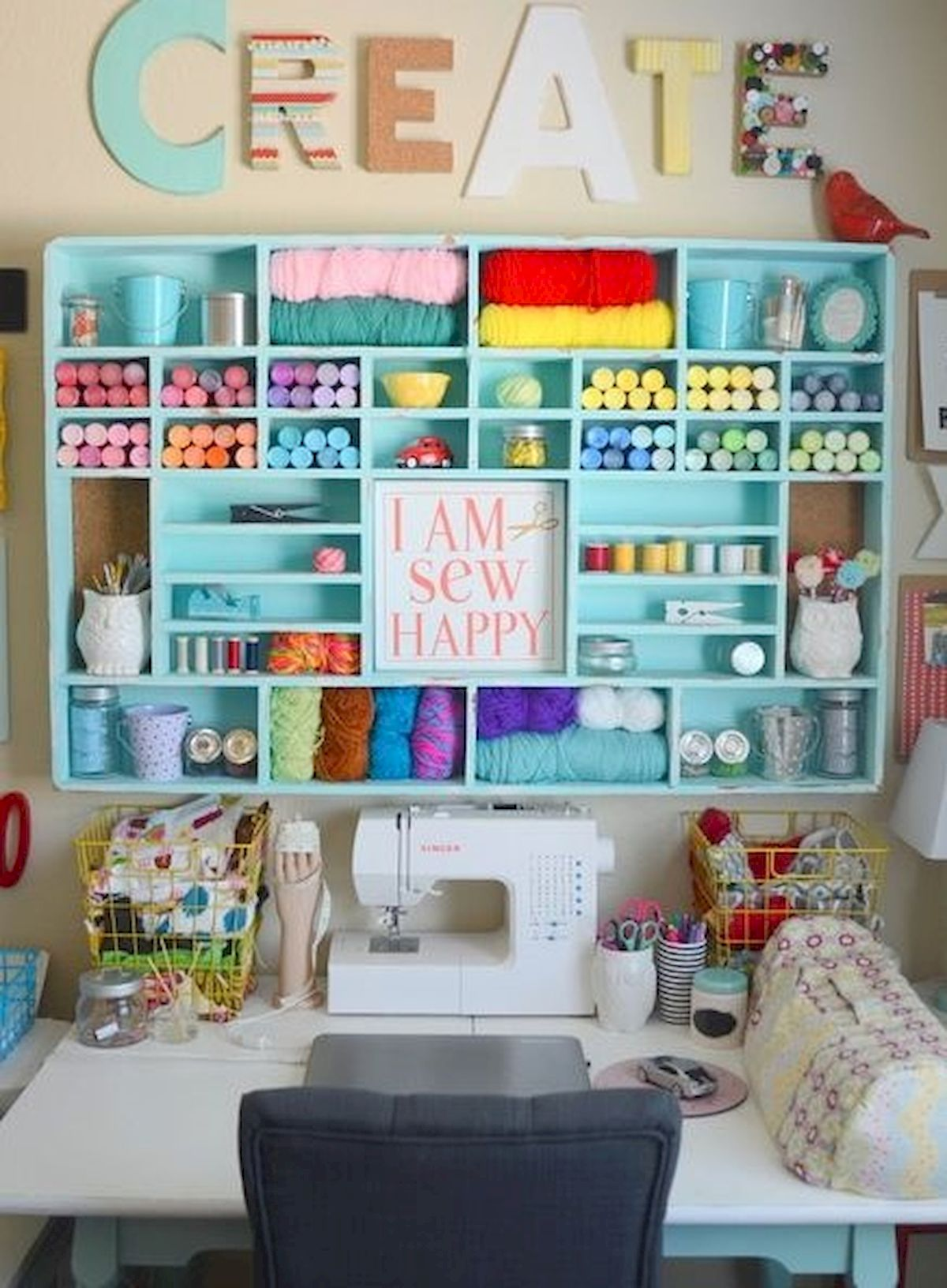 40 Art Room And Craft Room Organization Decor Ideas , artmyideas