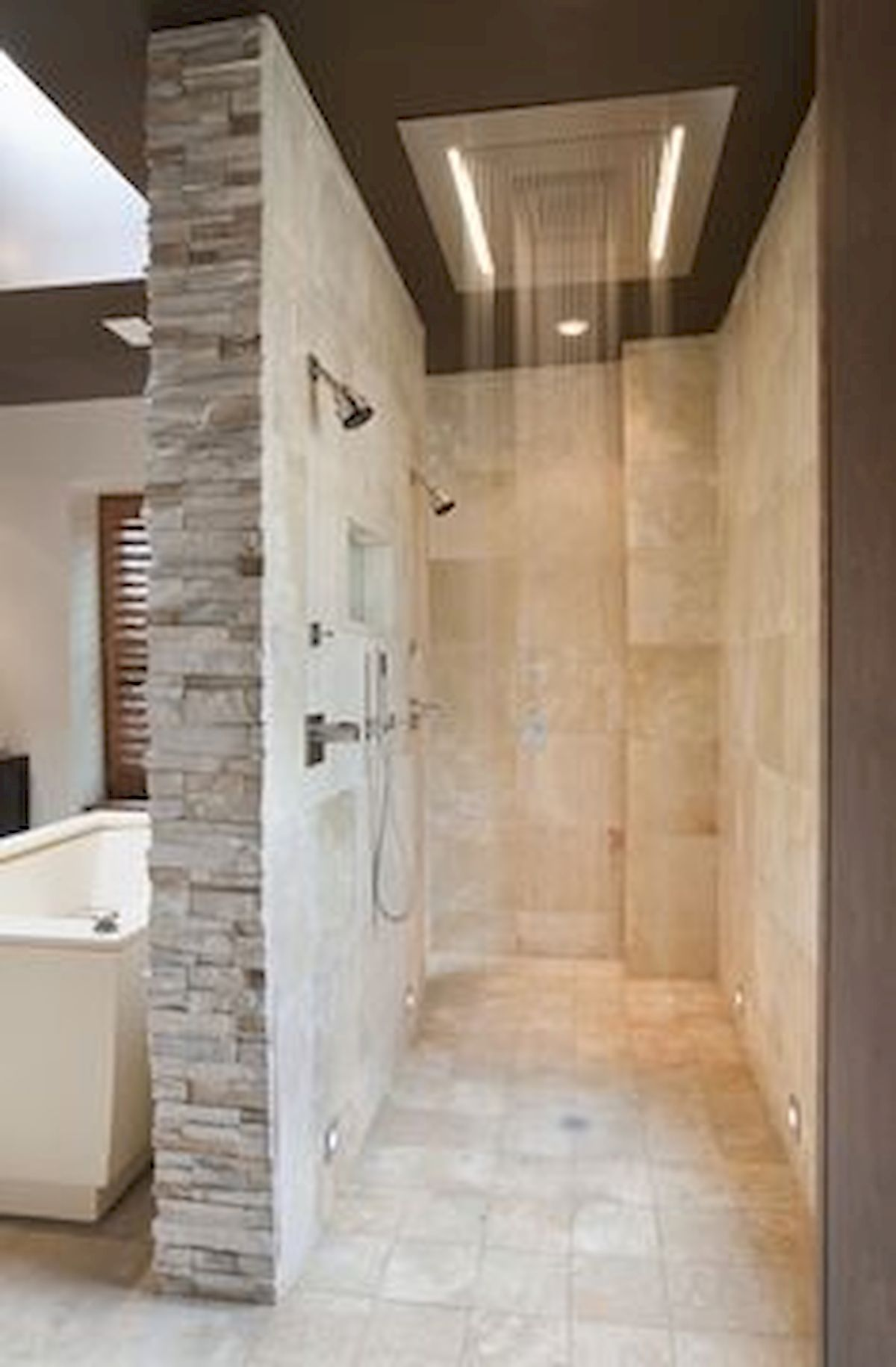 46 Fantastic Walk In Shower No Door for Bathroom Ideas (44 ...