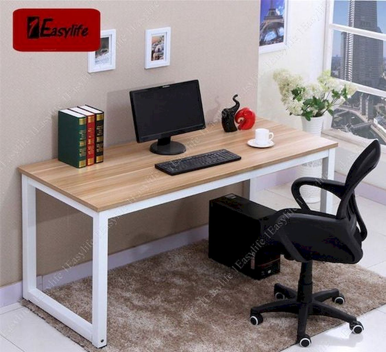 54 Wonderful DIY Computer Desk Design Ideas and Decor (50)