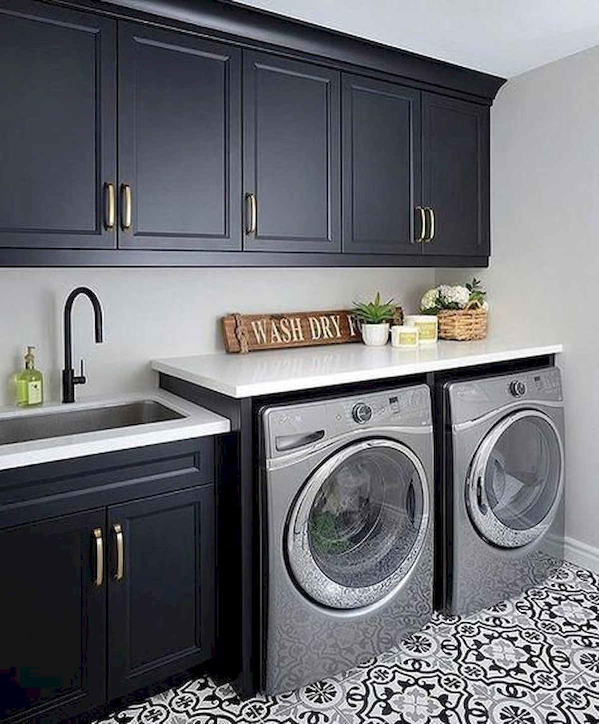 57 Fantastic Laundry Room Design Ideas And Decorations 48