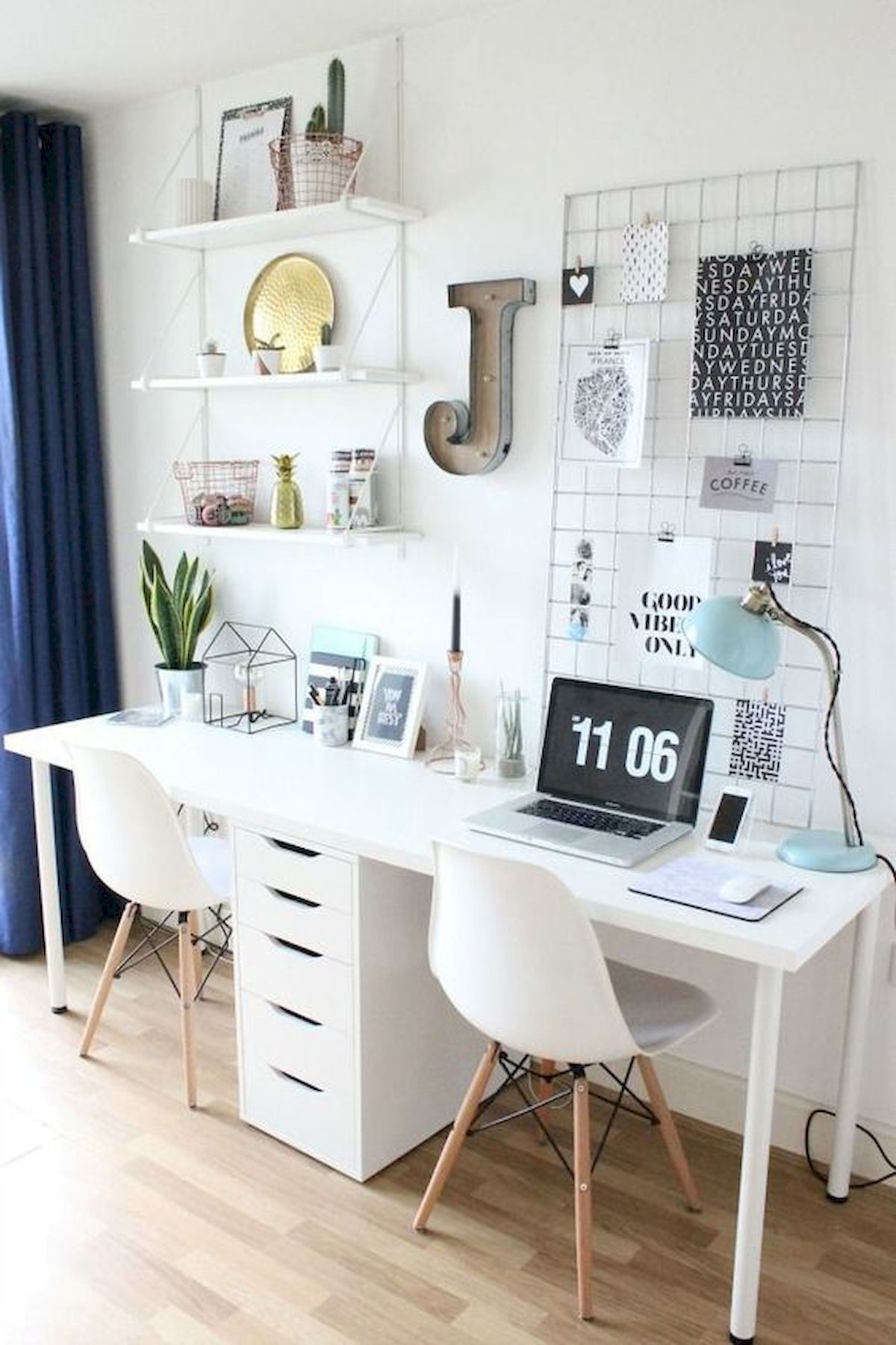 80 Wonderful Diy Art Desk Work Stations Ideas And Decorations 45 Artmyideas,How To Design An Office Chair