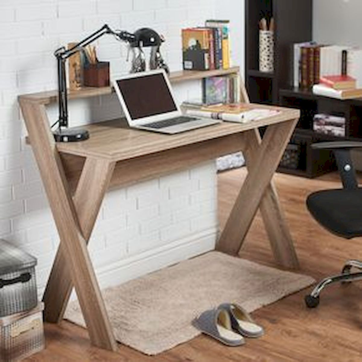 80 Wonderful DIY Art Desk Work Stations Ideas and Decorations (72)