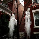 45 Stunning Halloween Decoration Outdoor Ideas (17)