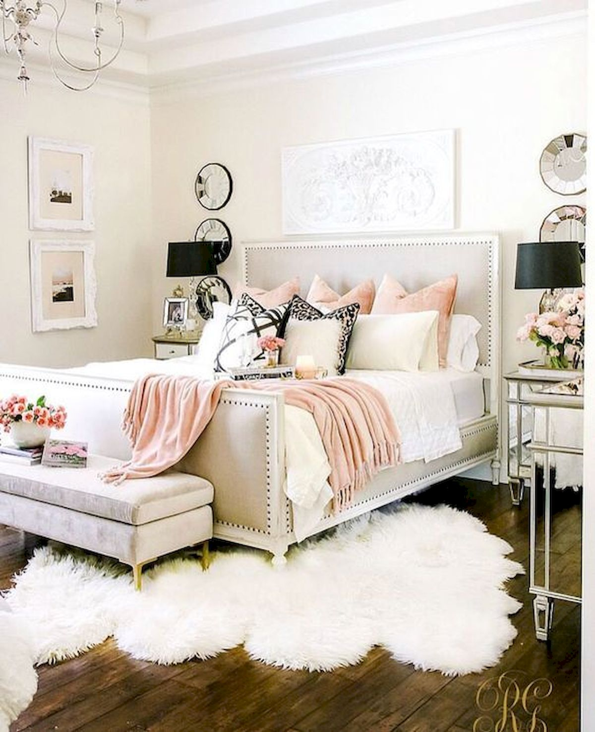82 Cool Bedroom Ideas for Creative Couples (69) - artmyideas