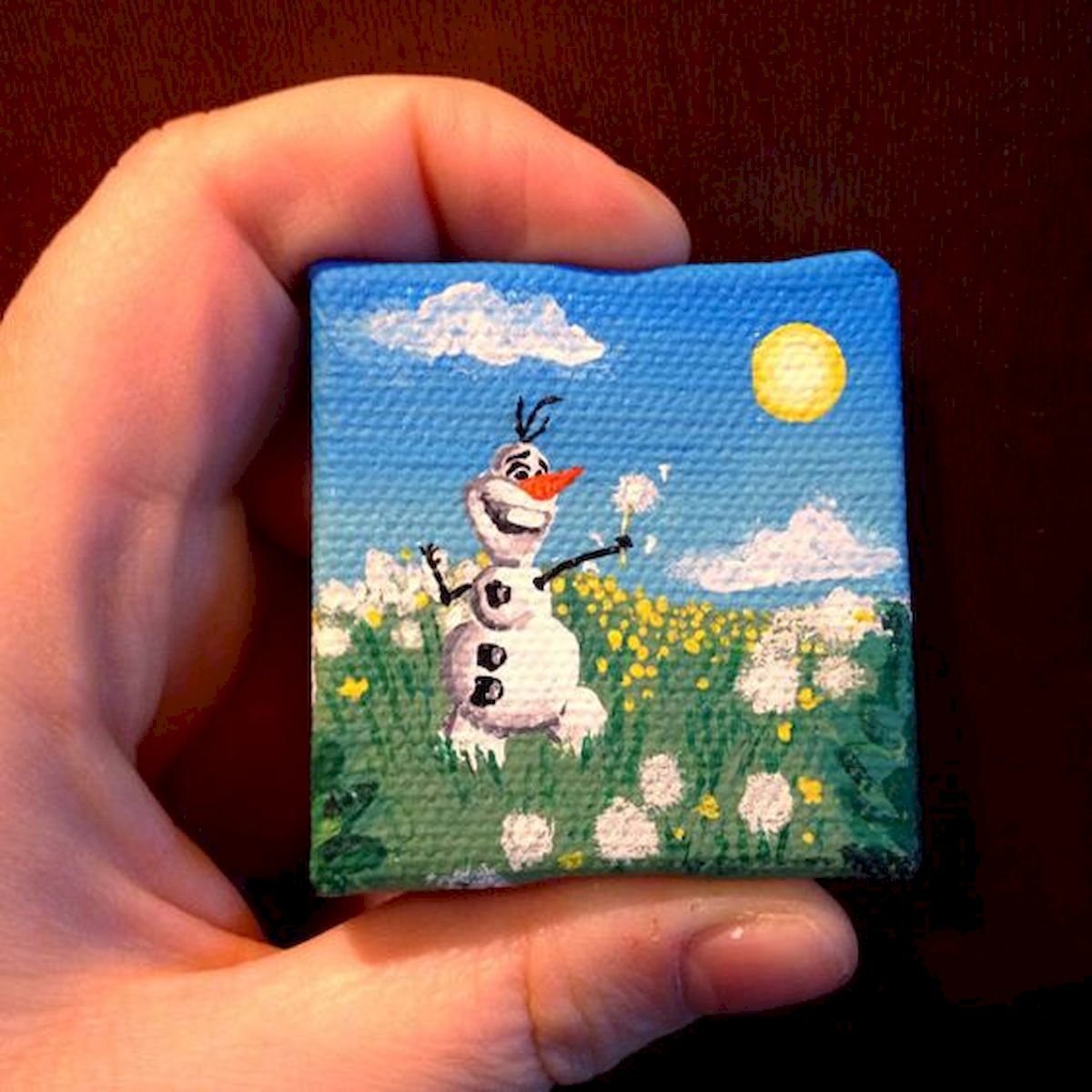 Easy Canvas Painting Ideas For Beginners Disney